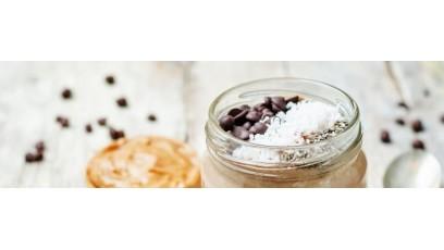Pudding coco au chocolat et à l'huile de CBD